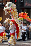 Toy Dragons at Sixth Annual Chinese Lunar New Year Stock Photo