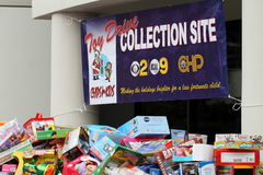 Toy Drive Royalty Free Stock Photos
