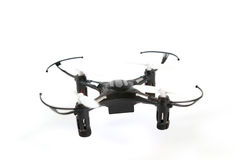 Toy Drone quadrocopter. Remote controlled quadcopter drone. Remote controlled quadcopter drone. Toy Drone quadrocopter. Remote controlled quadcopter drone royalty free stock photo