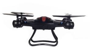Toy Drone ready to fly Royalty Free Stock Photos