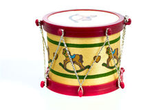 Toy drum Christmas ornament Royalty Free Stock Images
