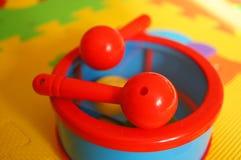 Toy drum Stock Image