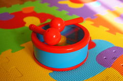 Toy drum Royalty Free Stock Image