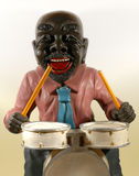 Toy Drummer Stock Photo
