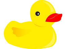 Toy duck Stock Photography