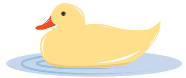 Toy duck Royalty Free Stock Photography