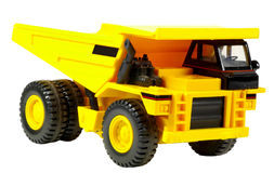 Toy Dump Truck Stock Photo