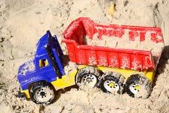 Toy Dump Truck Stock Afbeelding