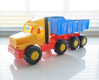 Toy Dump Truck Close up Royalty Free Stock Photography