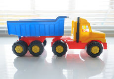 Toy Dump Truck Close up Royalty Free Stock Image