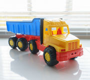 Toy Dump Truck Close up Stock Image