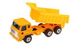 Toy Dump Truck Stock Photography