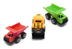 Toy Earth Movers Stock Image