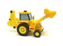 Toy Earthmover. Image of toy Earthmover over white Royalty Free Stock Images