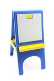 Toy Easel and Paper Stock Photo