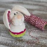 Toy Easter Bunny Fotografía de archivo