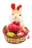 Toy Easter Bunny Fotografie Stock