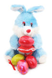 Toy Easter Bunny stock afbeelding