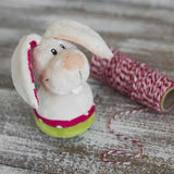 Toy Easter Bunny Stock Photography