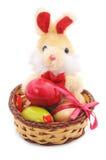 Toy Easter Bunny. Stock Photos