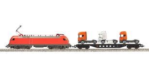 Toy Electric Locomotive Stock Image