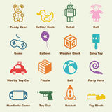 Toy elements Royalty Free Stock Photography