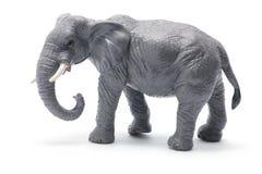 Toy Elephant. On White Background Royalty Free Stock Photos