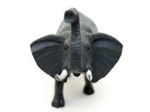 A toy elephant. On white background Stock Photo