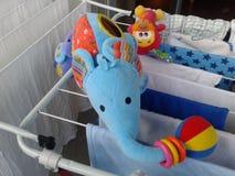 Toy elephant Royalty Free Stock Photos