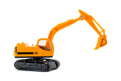 Toy excavator Royalty Free Stock Photos