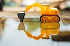 toy excavator Stock Photography