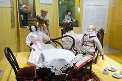 Toy exhibition in Vapriikki Stock Photos