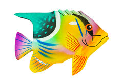 Toy exotic fish Stock Images