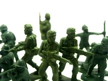 toy för 7 soldat Royaltyfria Foton