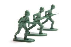 toy för soldater tre royaltyfria foton