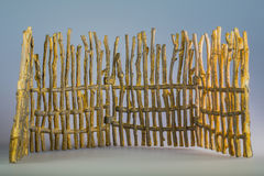 Toy fence. Made of resin Stock Image