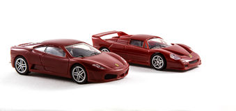 Toy Ferrari Cars Stock Image