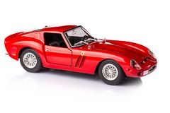 Toy Ferrari 250 GTO Royalty Free Stock Images