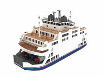 Toy ferry boat Royalty Free Stock Photography