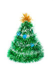 Toy fir-tree from tinsel Royalty Free Stock Photography