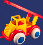 Toy fire truck Stock Image