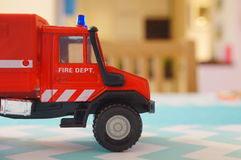 Toy fire truck Royalty Free Stock Photography
