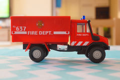 Toy fire truck Royalty Free Stock Photos