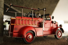 Toy Fire Truck Royalty Free Stock Image