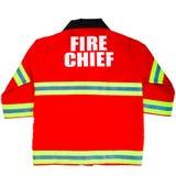 Toy Fireman Jacket royalty-vrije stock foto