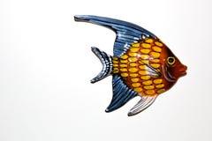 Toy fish. On white background Royalty Free Stock Photos