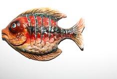 Toy fish. On white background Stock Photo