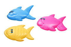 Toy Fishes Stock Image