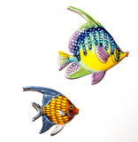 Toy fishes Royalty Free Stock Image