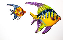 Toy fishes Royalty Free Stock Images